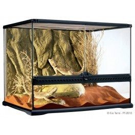 PT2610 Exo Terra Medium Wide Terrarium (600mm X 450mm X 450mm)
