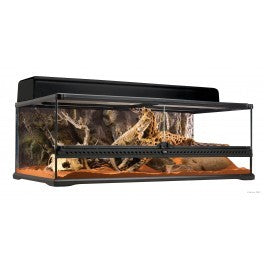 PT2611 Exo Terra Large Low Terrarium (900mm X 450mm X 300mm)