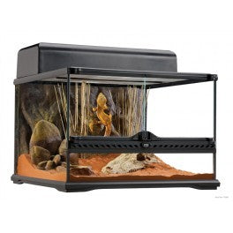 PT2603 Exo Terra Small Low Terrarium (450mm X 450mm X 300mm)