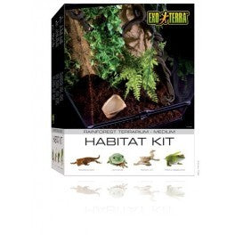 PT2662 Exo Terra Habitat Kit Rainforest Medium (450mm X 450mm X 600mm)