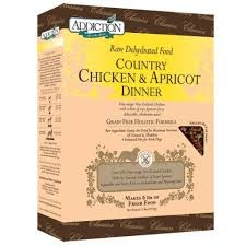 ADDICTION COUNTRY CHICKEN & APRICOT DINNER 8LB