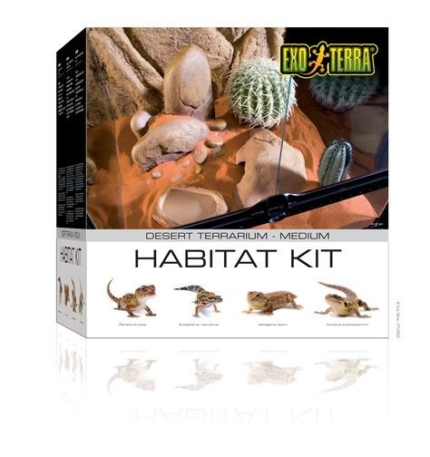 Exo Terra Habitat Kit Desert Medium 45X45X45cm