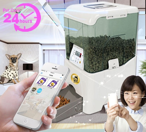 Automatic Pet Feeder from your Phone!