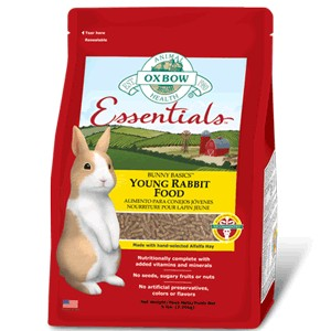 OXBOW ESSENTIALS BUNNY BASICS YOUNG RABBIT 10LBS