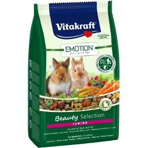 Vitakraft Emotion Beauty Selection Junior Rabbit 600g
