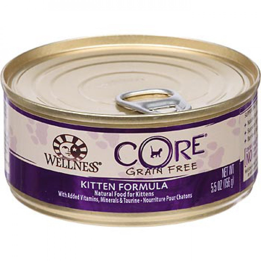 WELLNESS CORE KITTEN 5.5OZ
