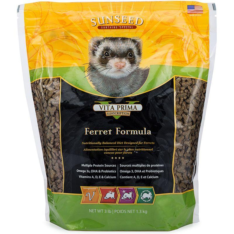 Sunseed Vita Prima Sunscription Ferret Formula 3lb