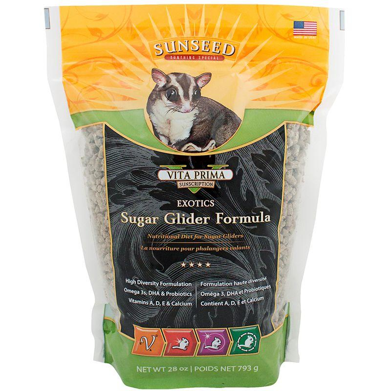 Sunseed Vita Prima Sunscription Exotics Sugar Glider Formula 28oz