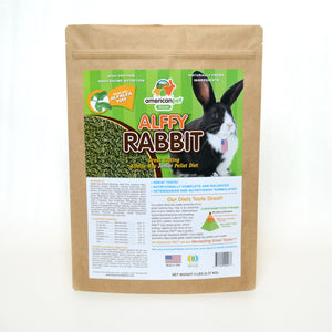 American Pet Diner Alffy Rabbit Pellet Food 5lb