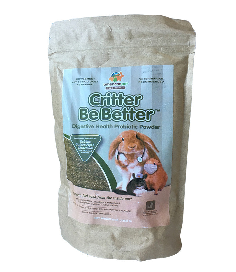 American Pet Diner Critter Be Better Health Recovery Powder 8oz