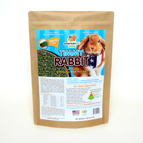 American Pet Diner Timmy Rabbit Pellet Food 5lb