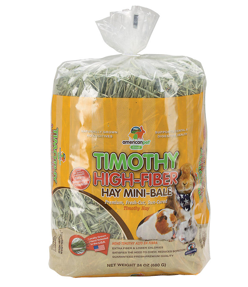 American Pet Diner Timothy High-Fibre Hay