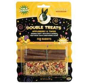 Sunseed Appleberry & Twigs for Rabbits 2.5oz