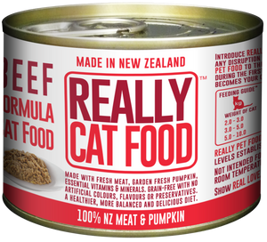 Really Cat Food Beef 170g (24/carton)