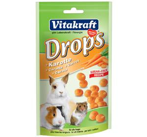 Vitakraft Carrot Drops for Rabbit 75g