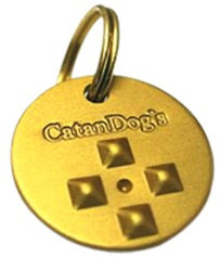 CatanDog's Anti Fleas & Ticks Metal Tag