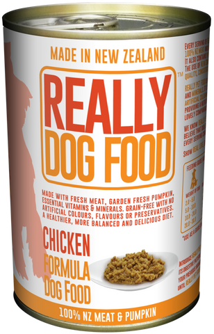 Really Dog Food Chicken 375g (12/carton)