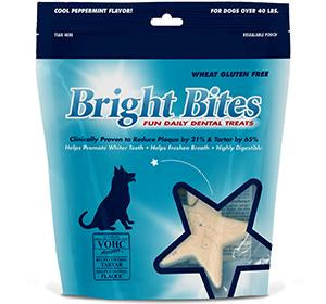 Bright Bites Cool Peppermint Daily Dental Treats