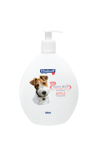 Vitakraft 2 in 1 Goat's Milk Shampoo