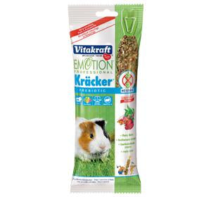 Vitakraft Emotion Professional Prebiotic Kracker Beetroot for Guinea Pig (2pc)
