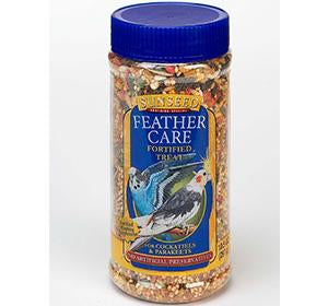 Sunseed Feather Care Fortified Treat for Cockatiel & Parakeet 10.5oz