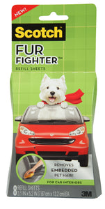 3M Scotch Fur Fighter Pet Hair Remover For Car Interior Refill