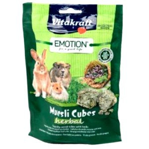 Vitakraft Emotion Muesli Cubes Herbal 80g SA
