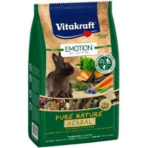 Vitakraft Emotion Pure Nature Herbal Rabbit 600g