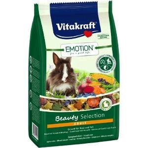 Vitakraft Emotion Beauty Selection Adult Rabbit 600g