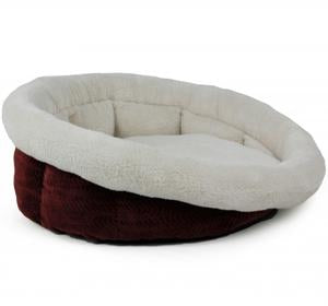 All For Paws Herringbone Round Bed