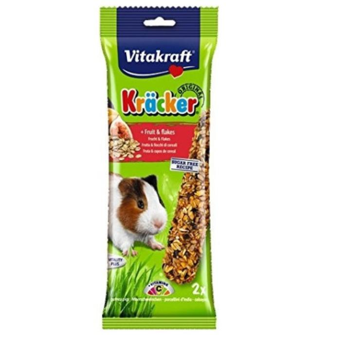Vitakraft Kracker Fruit Guinea Pig 2pcs