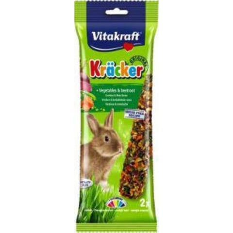 Vitakraft Kracker Vegetable Rabbit 2pcs