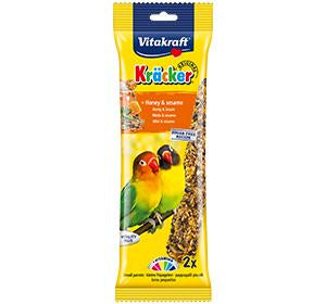 Vitakraft Kracker Honey & Sesame Lovebird 2pcs