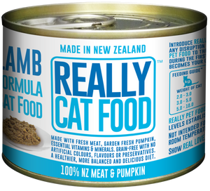 Really Cat Food Lamb 170g (24/carton)