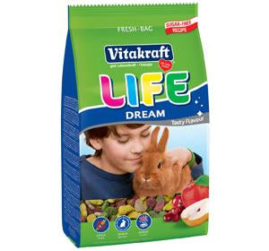 Vitakraft Life Dream for Rabbit (600g, 1.8kg)