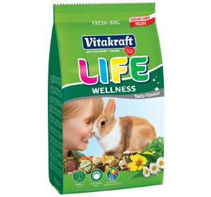 Vitakraft Life Wellness for Rabbit (600g, 1.8kg)
