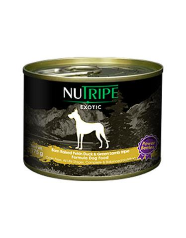 Nutripe Exotic Pekin Duck & Green Tripe w Berries Dog 175g (24/carton)