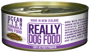 Really Dog Food Ocean Fish 90g (24/carton)