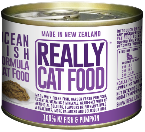 Really Cat Food Ocean Fish 170g (24/carton)