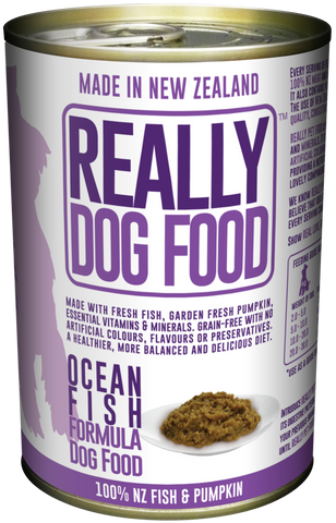 Really Dog Food Ocean Fish 375g (12/carton)