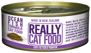 Really Cat Food Ocean Fish 90g (24/carton)