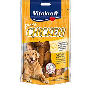 Vitakraft Chicken Sausages 80g