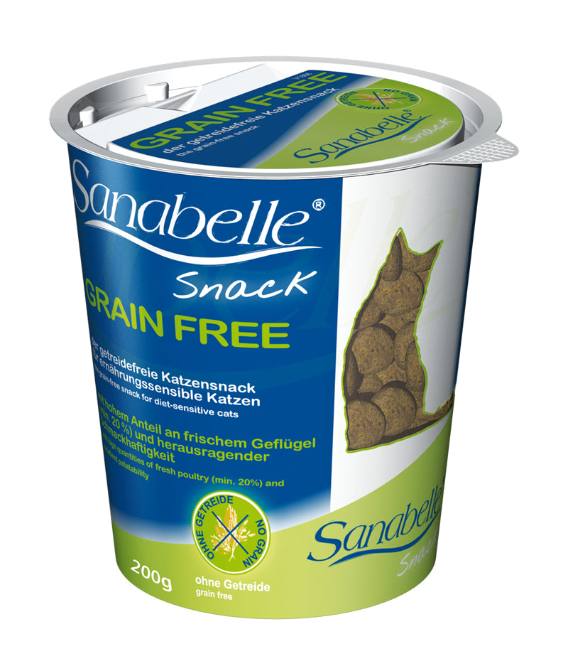 Sanabelle Grain Free Cat Snack 200g