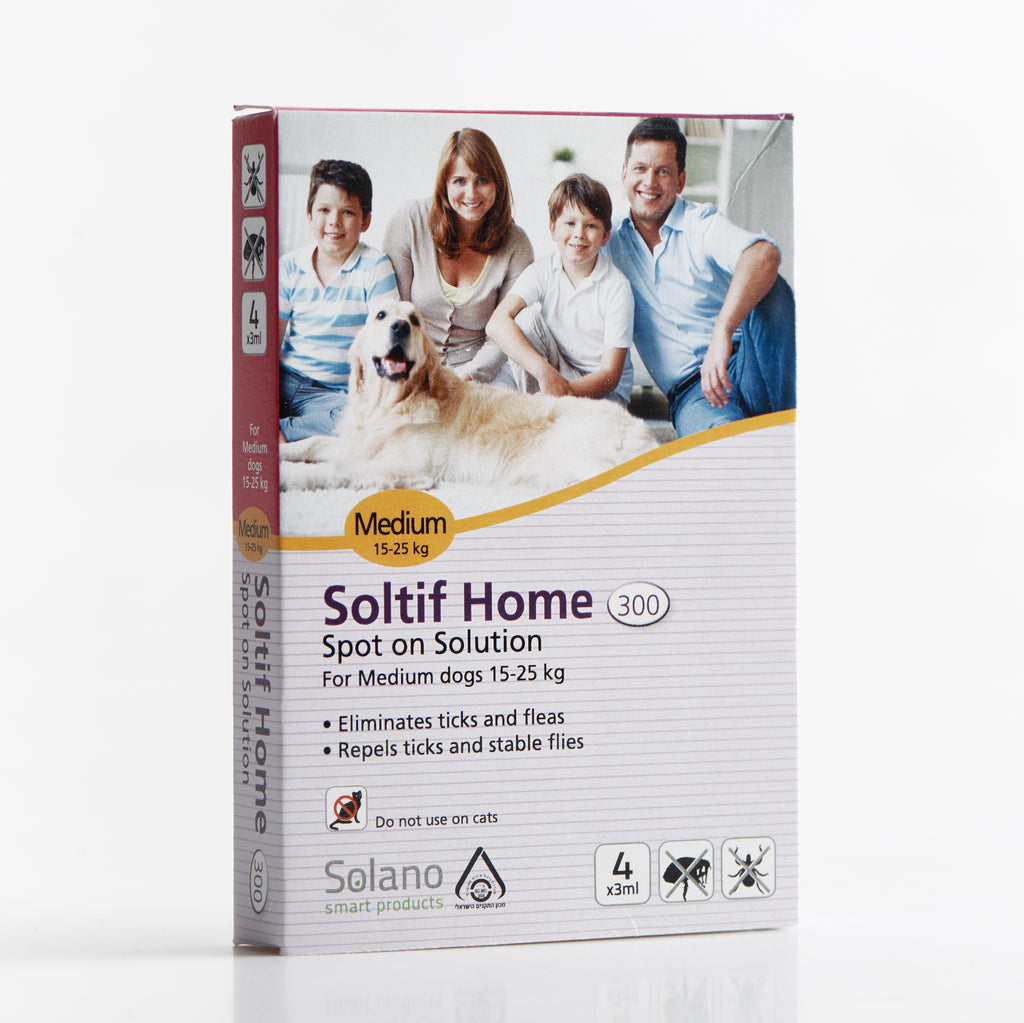Solano Soltif Home All in One Spot-On Solution for Dogs