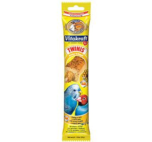 Vitakraft Twinis with Honey for Parakeets & Finches 30g