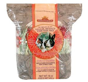 Sunseed Veggie Medley Timothy Hay 16oz