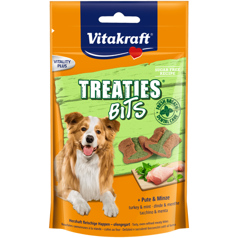 Vitakraft Treaties Bits Turkey & Mint 120g (6pcs/carton)