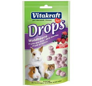 Vitakraft Wildberry Drops for Rabbit 75g
