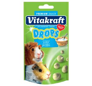 Vitakraft Yogurt Drops for Guinea Pig 75g