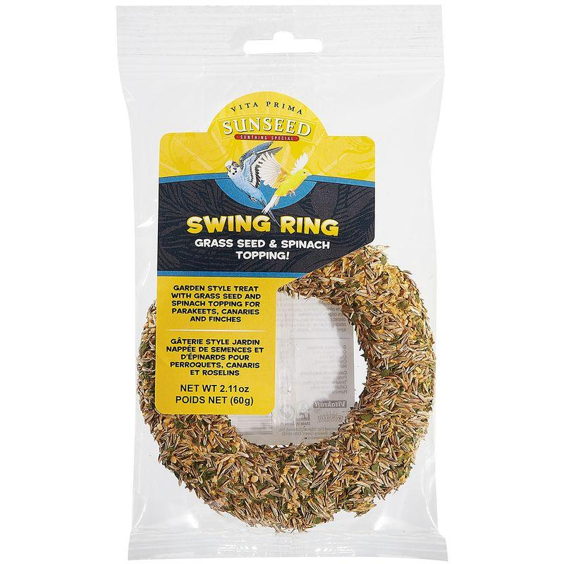 Sunseed Vita Prima Swing Ring Grass Seed & Spinach